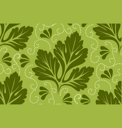 flower seamless pattern element vector image vector image