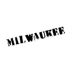 Milwaukee rubber stamp vector