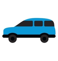 Single car icon vector