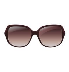 Woman glasses vector