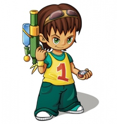 Boy vector