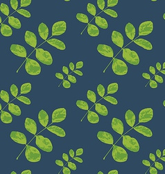 Seamless pattern of leaf vector