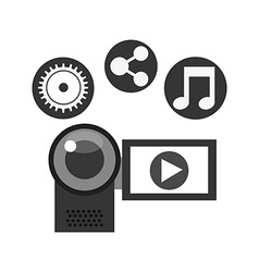 Video online design vector