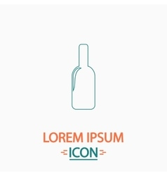 Alcohol computer symbol vector