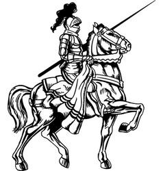 Mg00033 mounted knight03 vector
