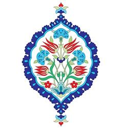 Artistic ottoman seamless pattern series sixty six vector