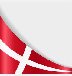 Danish flag background vector