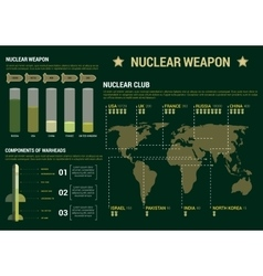 Military infographic charts poster template vector
