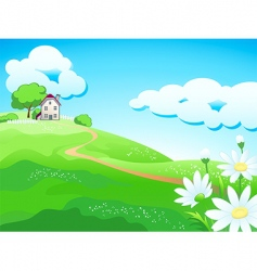 sweat country home vector image vector image