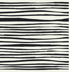 Black brush lines seamless pattern black hand vector