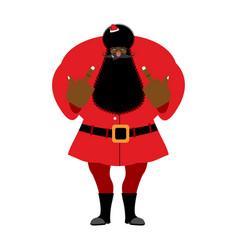 Big black bad santa claus shows to fuck vector