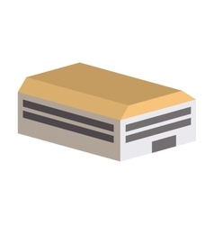 building construction isometric icon vector image