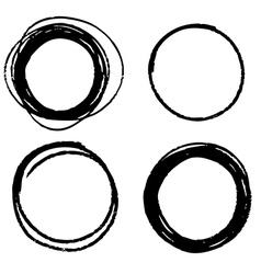 Circle 04 vector image vector image