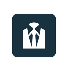 Business wear icon rounded squares button vector
