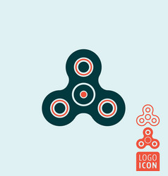 Spinner icon isolated vector
