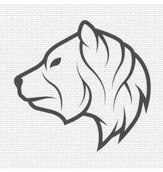 The bear symbol logo emblem vector image vector image