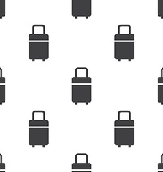 travel bag seamless pattern vector image vector image