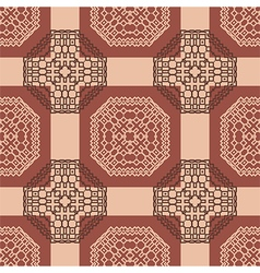 tribal abstract seamless pattern vector image
