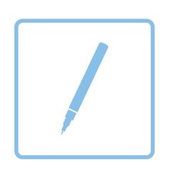 Liner pen icon vector