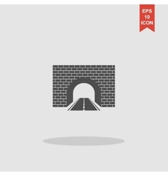 Tunnel icon concept for vector