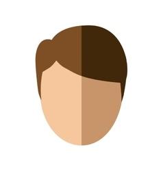 Man male head person icon vector