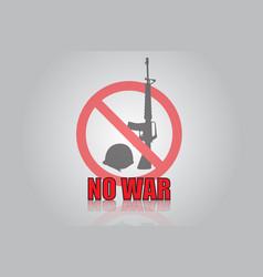 No war icon design vector