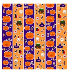 Pattern halloween third vector