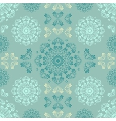 Blue seamless pattern for wall Wallpaper fabric vector image vector image