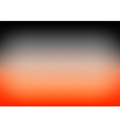 Orange black gradient background vector