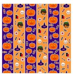 Pattern halloween third vector