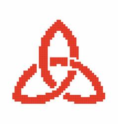 Trinity sign vector