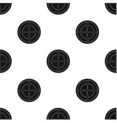 Optical sightpaintball single icon in black style vector