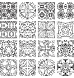 Seamless pattern from diamond cutting vector