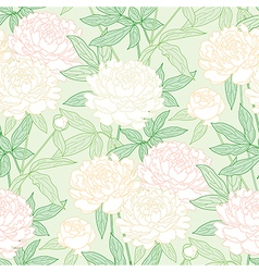 peon pattern green vector image