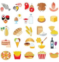 Food color vector