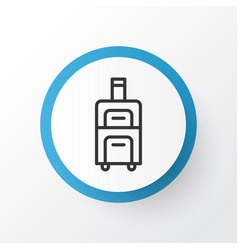 Baggage icon symbol premium quality isolated vector