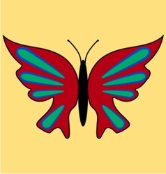 Butterfly image 4 vector