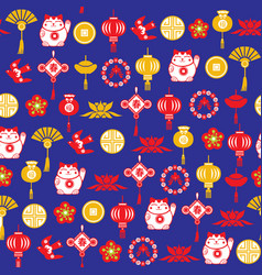Chinese decorative background and pattern of vector