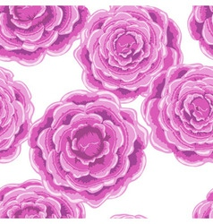pink rose pattern vector image vector image