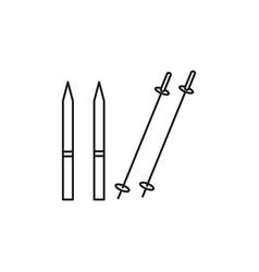 skies icon vector image