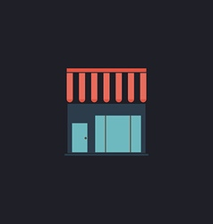store computer symbol vector image vector image