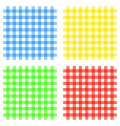 Fabric seamless pattern vector