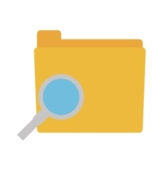 folder search files document vector image