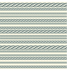 Rope seamless pattern vector