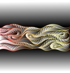 Decorative ornamental pattern background vector image