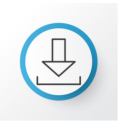 Download icon symbol premium quality isolated vector
