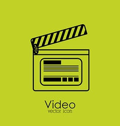 Video design vector image vector image