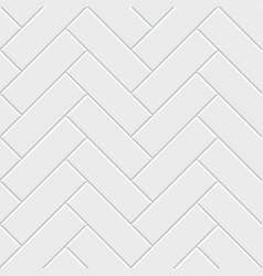 White herringbone parquet seamless pattern vector