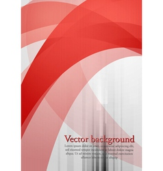 Wavy tech background vector