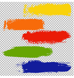 Color blots set vector